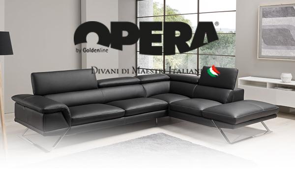 Opera Divani In Pelle.Opera Divani Arredi Design